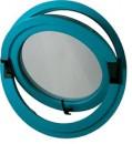 Среднеподвесное круглое окно