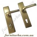 3672945 Ручка дверная Hoppe London 54/92 (F4 бронза) противовзлом