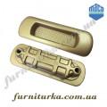 HS-ручка-притвор короткая  Масо для подъемно-сдвижных систем (бронза)