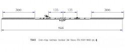 Поворотно-откидной привод MACO противовзломный вариационный DM 15 Gr.4 (1301-1800)