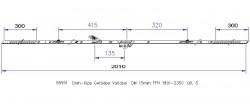 Поворотно-откидной привод MACO противовзломный вариационный DM 15 Gr.5 (1801-2350)