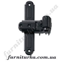 Крестообразная петля для ставень с креплением в раму BLR Gr.0 чёрный 20-32/18/50-74