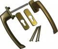 Ручка двухсторонняя  для раздвижной системы Масо (бронза СКБ)