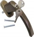 Ручка с кнопкой-ключём (бронзовая)