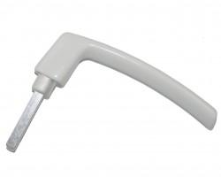 Ручка оконная Масо белая (отдельно от розетки)