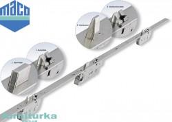 Замок дверной рейка  МАСО Z-TF DM-35 с 3 защелками - чтобы двери были ровные